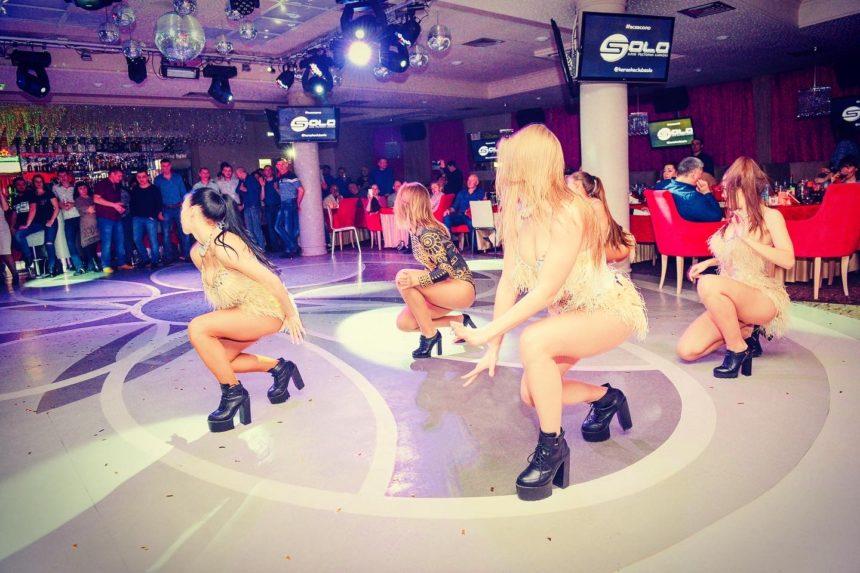 """Танцевальное шоу """"INFINITY"""" & Виктория Федосеенко 23/02 в клубе """"Solo""""!"""